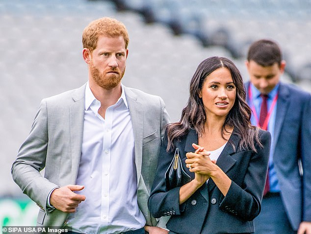 Prince Harry moved to Los Angeles with his wife Megan and their infant son Archie in early May after leaving a rented mansion in Vancouver, Canada, in March.