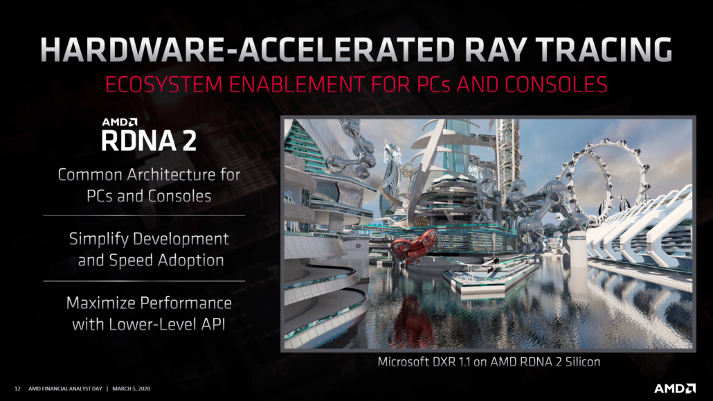 AMD Radeon RX RDNA 2 Navi GPU Family_Ray Tracking