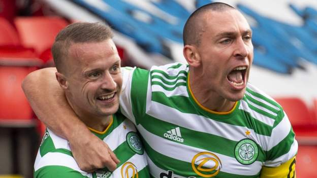 St. Johnston 0-2 Celtic: Neil Lennon's late team won at McDermid Park
