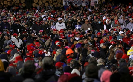 Image from the file: US President Donald Trump's campaigns in Minnesota Image from the file: Supporters of US President Donald Trump participate in a campaign rally at Duluth International Airport in Duluth, Minnesota, on September 30, 2020. (Reuters) / Lea Meles / File Photo