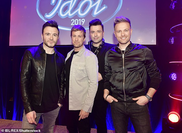 Profession: It was Shane's mother who started Westlife's career when she called family friend Lois Walsh and told him to give the group a chance (pictured in December 2019)