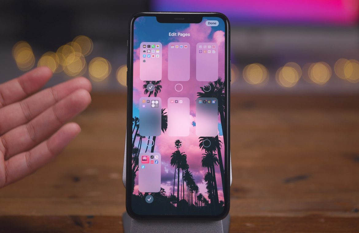 Manage Master iOS 14 Home Screen app on iPhone