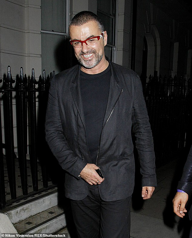 George, who died on Christmas Day 2016 at the age of 53, left no money for Gus in his will but reportedly paid him a generous monthly allowance prior to their separation in 2011 Pictured: George in 2012