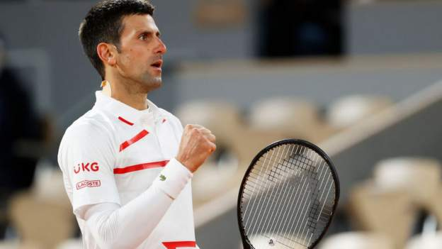 French Open: Novak Djokovic beat Pablo Carreno Busta to reach the semi-finals