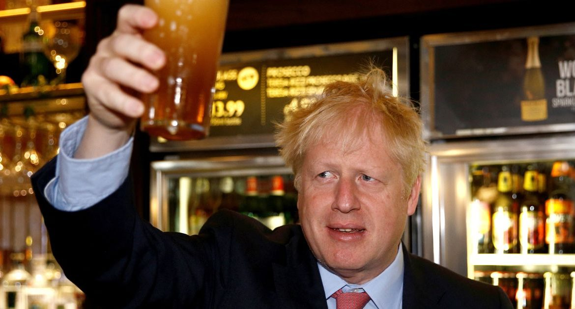 Boris Johnson has prepared to close bars and restaurants across the North to curb the second wave of the Coronavirus