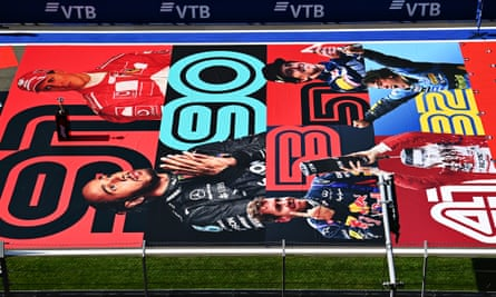 A web poster in Sochi last month shows the number of race winners for Michael Schumacher, Lewis Hamilton, Sebastian Vettel, Alan Prost, Ayrton Senna and Fernando Alonso.