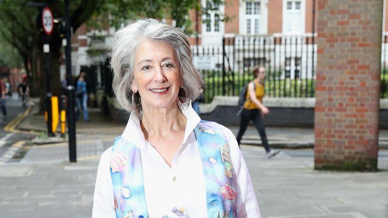 Maureen Lipman attends Vamos Cuba!  An evening of dignitaries at Sadler's Wells Theater in London