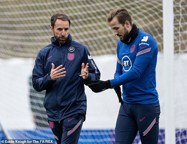 Gareth Southgate takes an injury hit as Harry Kane suffers from a muscle problem