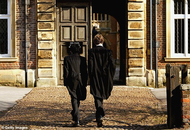 All of the most prestigious boarding schools (pictured: Library Photo) Lower Sixth - Year 12 - have been told to quarantine their home after a `` significant '' number of pupils tested positive for Covid-19, according to reports.