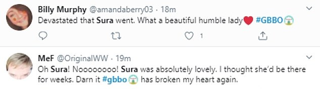 Shock: By taking to Twitter after the show aired, many viewers shared their disappointment and shock at eliminating fan favorite surah