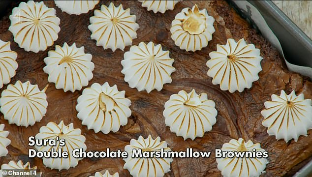 Challenge: This week's Great British Bake Off theme was chocolate as contestants had to start by making 12 brownie buns