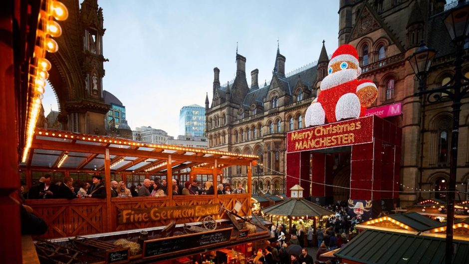 Manchester Christmas markets have been officially canceled