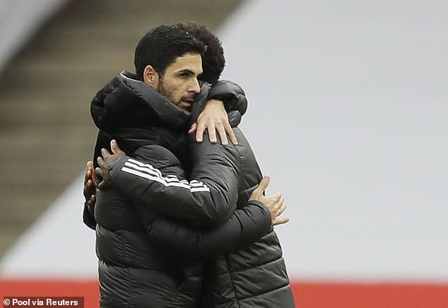 Arteta had a great start in his management career, winning two titles