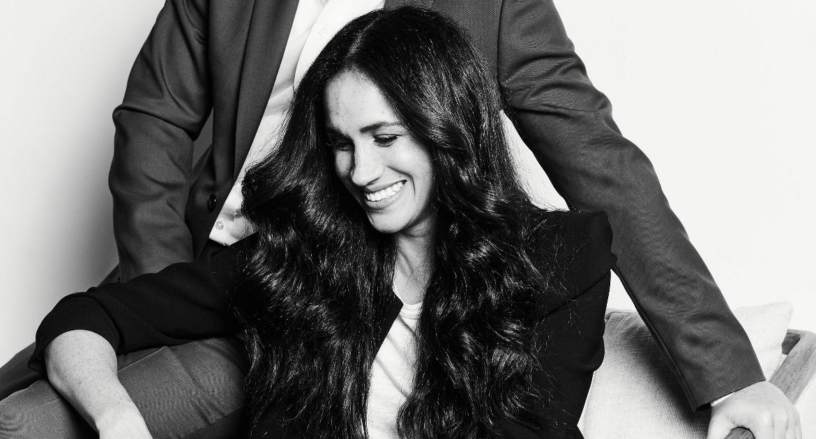 Meghan Markle and Harry share a new official photo - and it's totally different from the royal shots