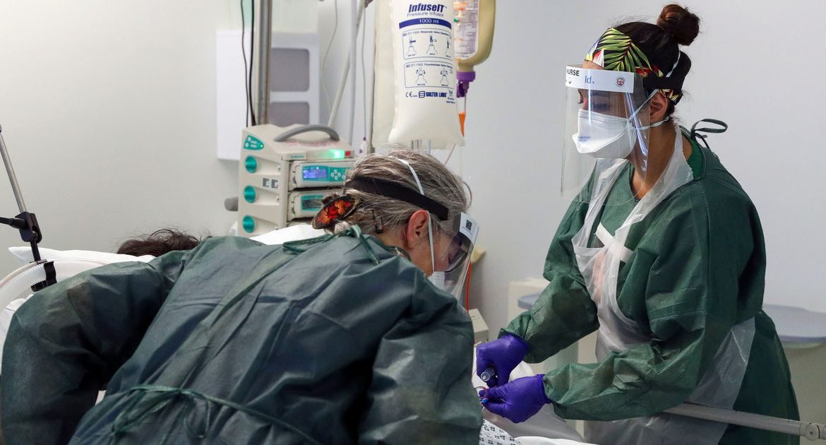 Hospital deaths due to coronavirus in the UK are up 108 - five times as much as a month ago