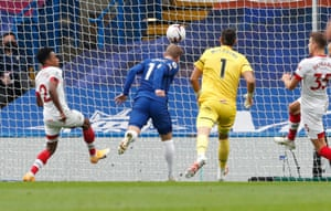 Werner scores his second goal