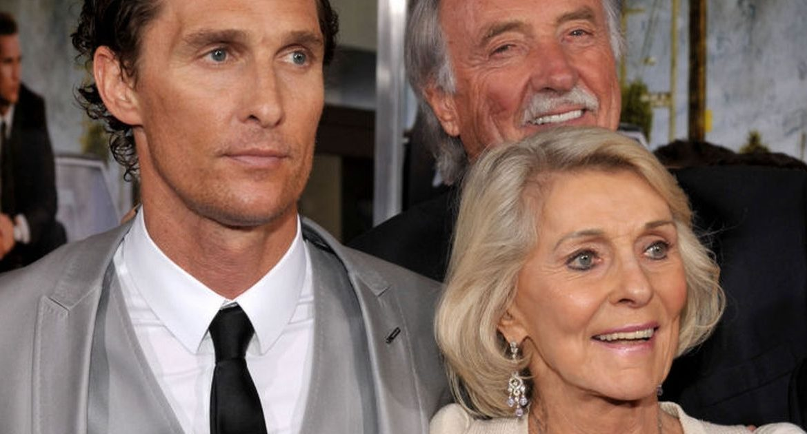 "Matthew McConaughey says his father died ""in the climax"" while having sex with his mother"