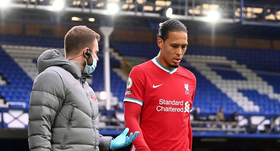 Virgil Van Dyck broke silence on injury after a terrifying intervention by Jordan Pickford