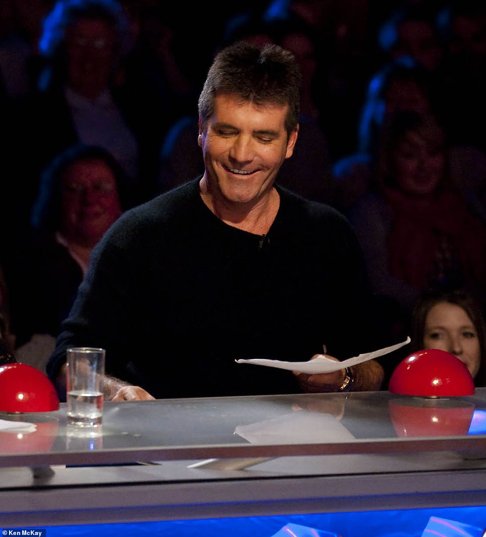 Preparation: He's working hard to get back on track before BGT 2021 (pictured on the show in 2009)