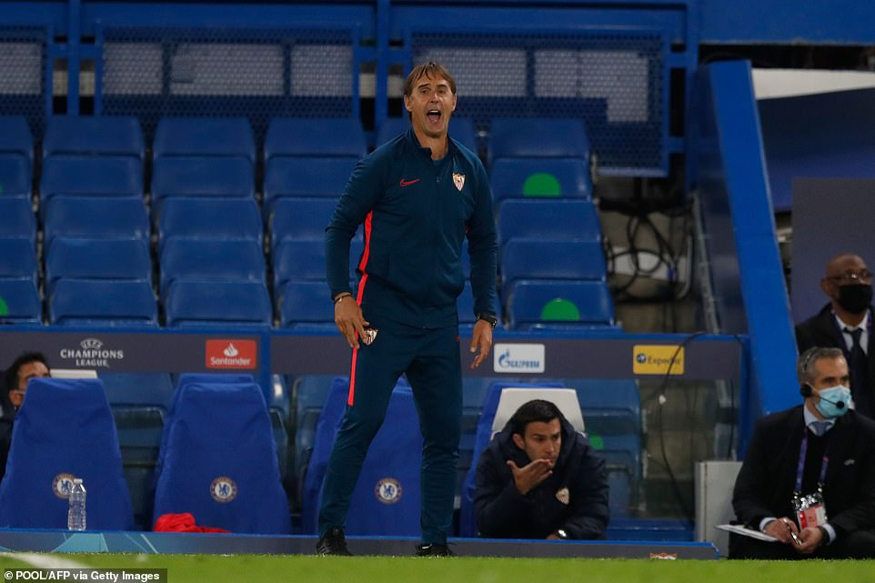 Yulin Lopetegui led Sevilla to the European League title last season, and they are among the best seeded players in Group E this season.