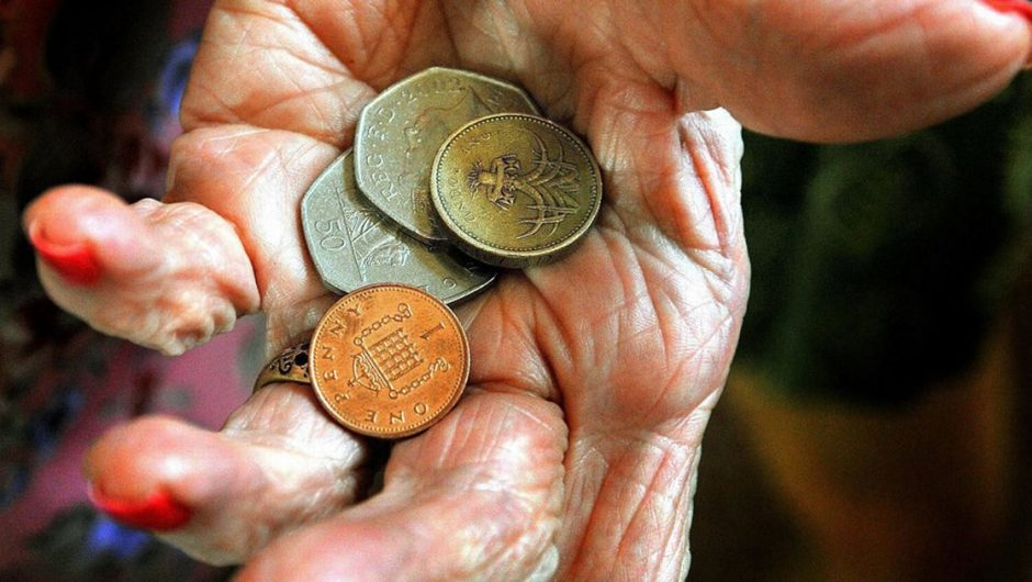 State pensions will rise £ 4.40 next week after inflation creeps in to just 0.5%