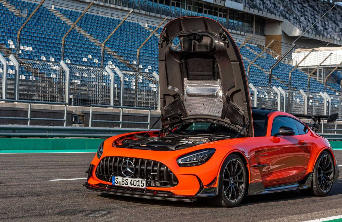 The Mercedes-AMG GT Black Series broke the record in the Nurburgring: report