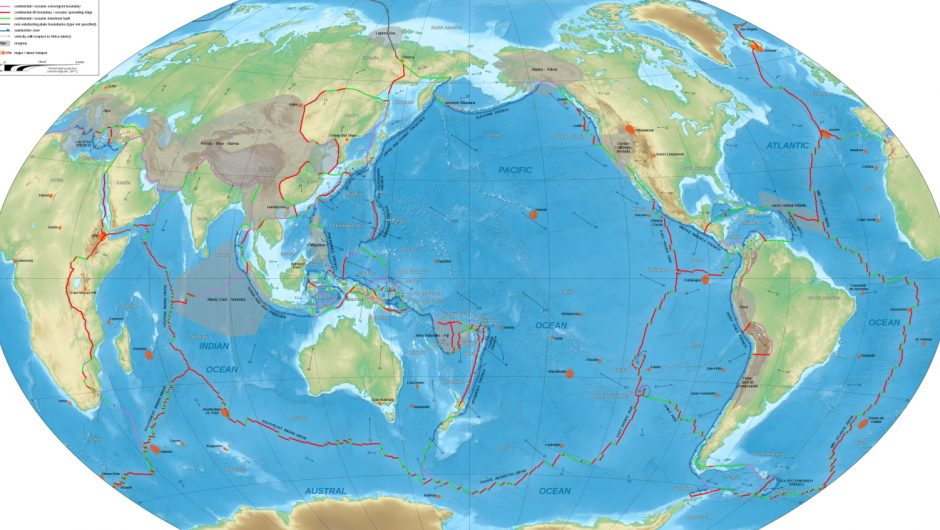 Scientists have found an ancient tectonic plate buried deep in the mantle of the Earth