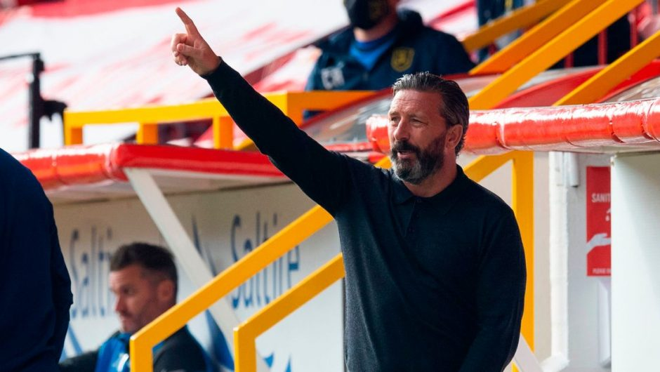 Derek McInnes pits Aberdeen to challenge Celtic as he enters the Rangers