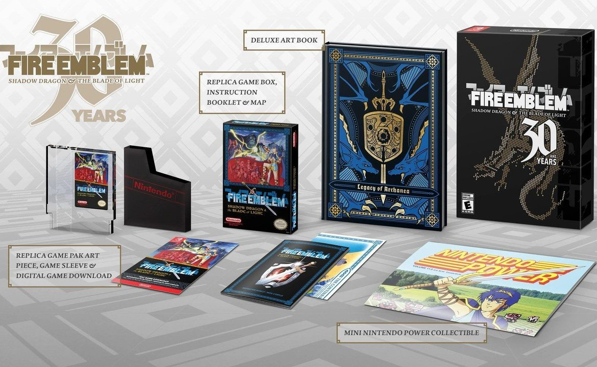Of course the speculators are already listing the Fire Emblem's 30th Anniversary Edition