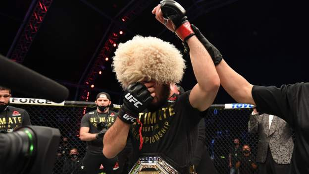 Khabib Nurmagomedov retires from UFC after beating Justin Gaetji