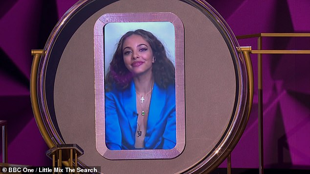 One down: Jade Thirlwall was noticeably absent from performing as she was forced to self-isolate at home amid the COVID-19 pandemic