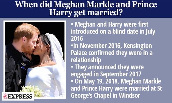 Prince Harry news: Express.co.uk fact sheet about Meghan and Harry's wedding