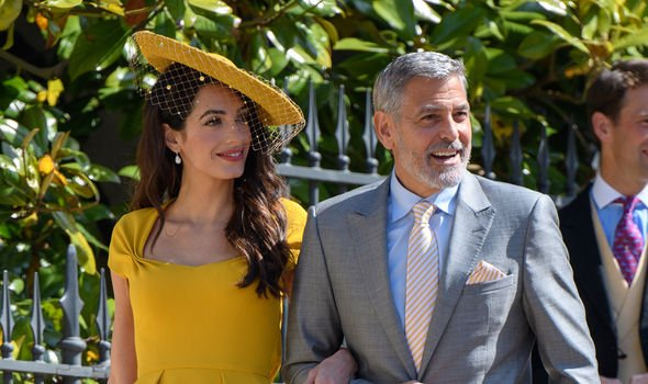 Prince Harry's news: George and Amal Clooney at Sussexus' royal wedding 2018