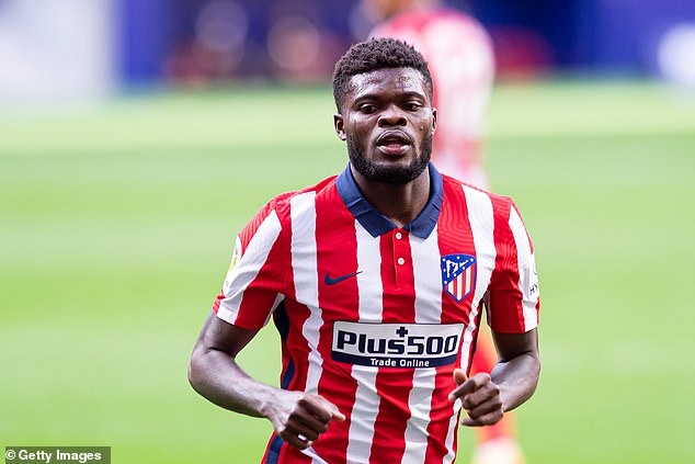 Arsenal have informed Atletico that they are prepared to fulfill the condition to release Thomas Partey