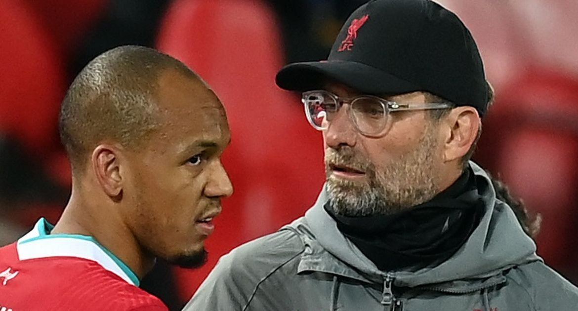 Brazil coach Tite responds to Jurgen Klopp's comments about the treatment of the Liverpool star Fabinho