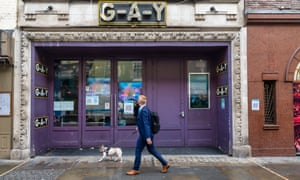 Entrance to the GAY Club in London