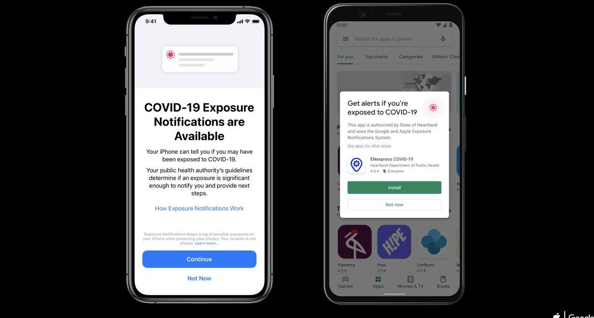 If you have upgraded to iPhone 12 or 12 Pro, you may have to re-enable COVID-19 exposure notifications