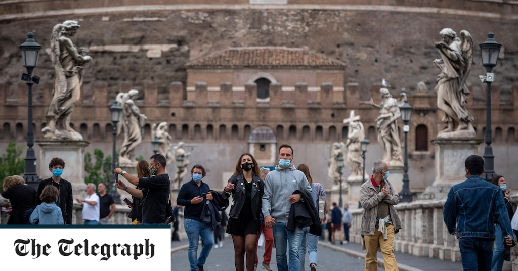 Italy's travel corridor is on the line as restrictions return