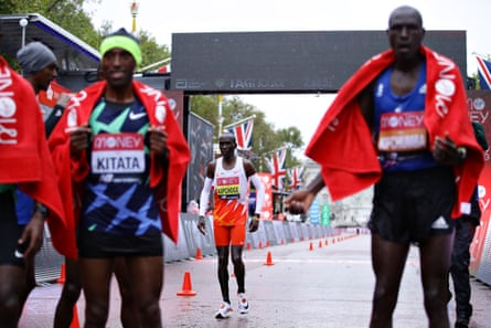 Eliud Kipchoge had a rare day off and was only able to take fifth.