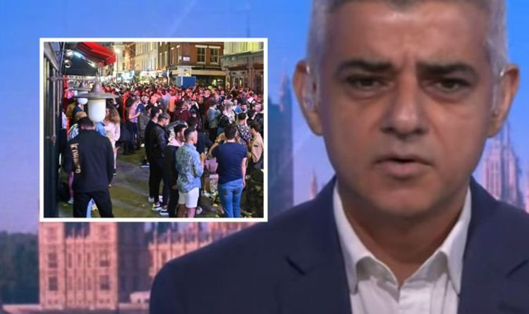 "London lockdown: New COVID rules ""inevitable"" - Sadiq Khan ""worried"" about the rapid spread of virus 
