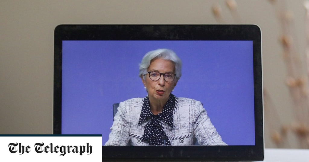 Markets are on the edge of a precipice as Lagarde says more stimulus is coming - live updates