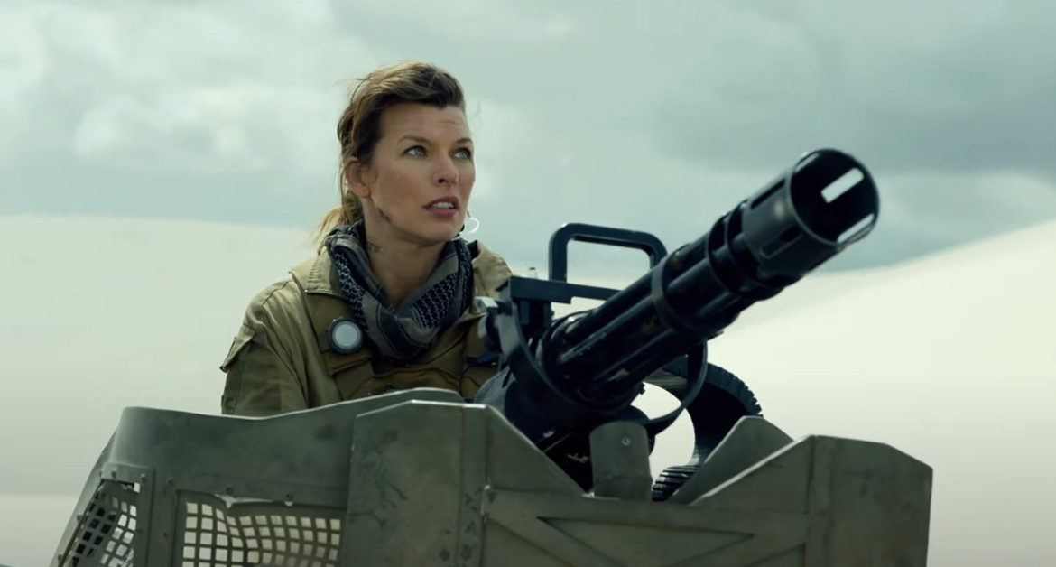 Milla Jovovich replaces zombies for gigantic monsters in the first full Monster Hunter trailer