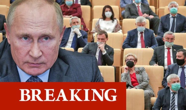Putin's crisis: 38 senior members of parliament have been hospitalized with Covid as Russia's infection cases rise to 17,000 per day The world | News