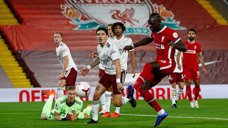 Sadio Mane is equivalent to Liverpool