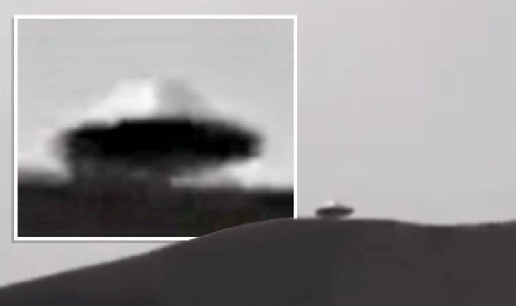 """Seeing UFOs: The """"best close-up shot"""" ever of a flying saucer is a """"100% proof"""" claims UFO hunter 