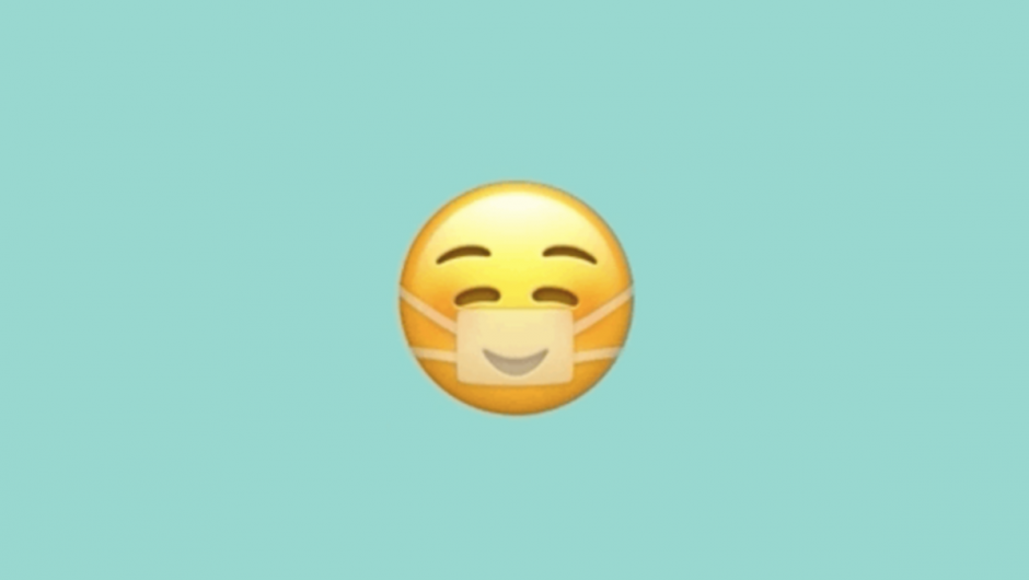 The new Apple Emoji takes pleasure in wearing a face mask