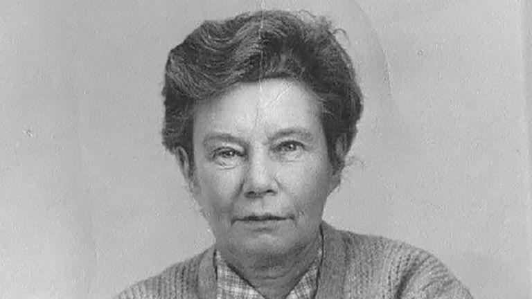 Joan drove ambulances in London during World War II