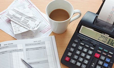 Receipts, invoices and printable calculator.