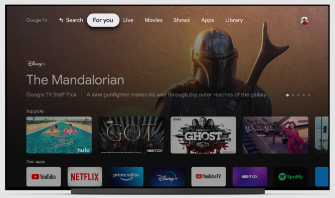 You can get the new Google TV interface that works on almost any Android TV device