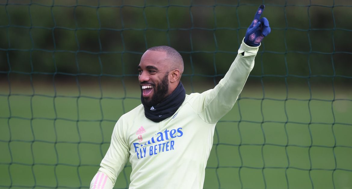 Lacazette mood, injury hit, Smith Roe's plan - things we noticed from Arsenal's training